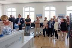 Willkommen zur Ausstellungseröffnung